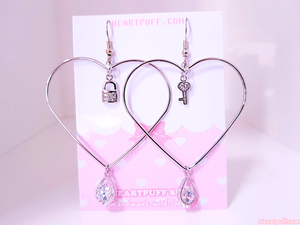 Locked Feelings Earrings