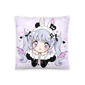 Heartpuff Maid Devil Pillow