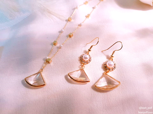 Aurora Pearl (Necklace + Earrings)