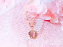 Load image into Gallery viewer, Chibi Moon (Necklace + Earrings)