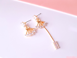 Diamond Thread Earrings