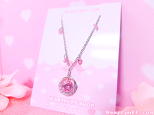 Load image into Gallery viewer, Pink Delight (Necklace + Earrings)