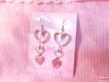 Load image into Gallery viewer, Bubble Heart Earrings
