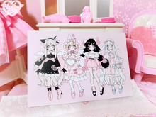 Load image into Gallery viewer, Heartpuff Doll Print