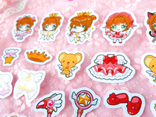 Load image into Gallery viewer, Cardcaptor Sakura Sticker Pack of 23