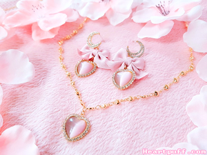Chibi Moon (Necklace + Earrings)