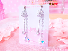 Load image into Gallery viewer, Crystal Pegasus Earrings