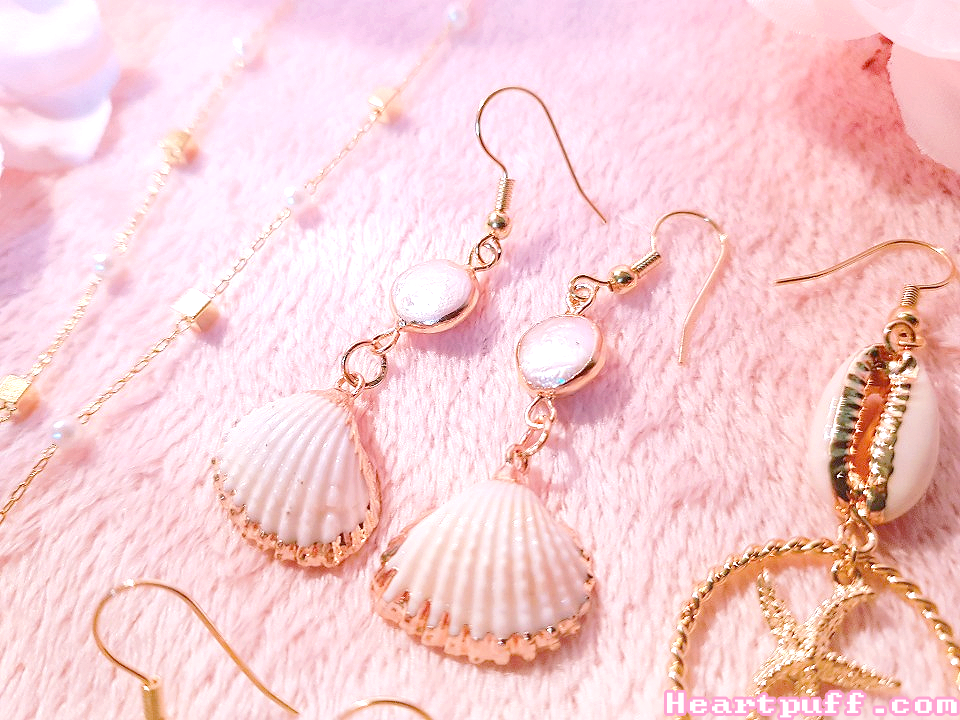 Ocean Treasure (Necklace + Earrings)