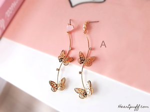 Butterfly Reverie (Necklace + Earrings)