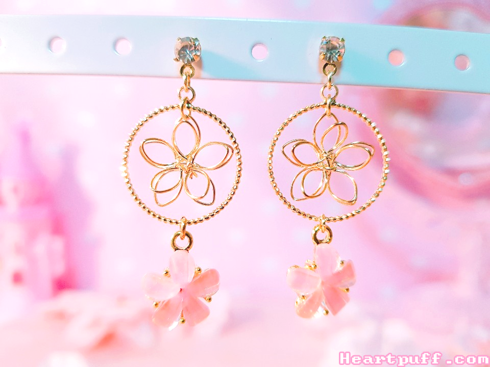 Dream Sakura Earrings