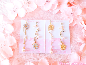 Pearl Blossom Earrings