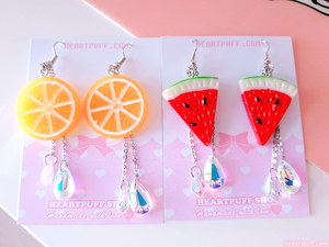 Fruit Juice Earrings