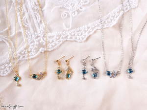 Sailor Neptune (Necklace + Earrings)