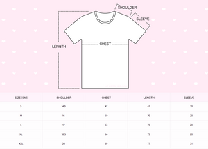 Heartpuff Sleepover T-Shirt