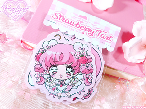 Heartpuff Tart Sticker Packs