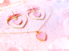 Load image into Gallery viewer, Strawberry Tart (Necklace + Earrings)