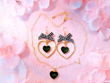 Load image into Gallery viewer, Blackberry Tart (Necklace + Earrings)
