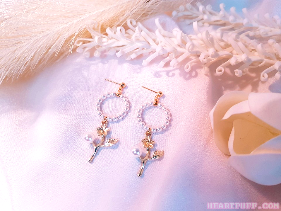 Pearl Fairy Earrings