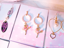 Load image into Gallery viewer, Pearl Fairy Earrings