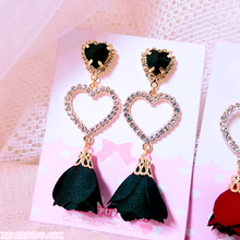 Load image into Gallery viewer, Roses in Love Earrings