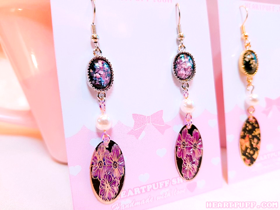 Midnight Empress Earrings