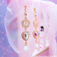 Load image into Gallery viewer, Crystal Unicorn Earrings