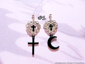 Midnight Nurse Earrings (2 DESIGNS)