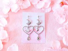 Load image into Gallery viewer, (LAST CHANCE) Sailor Saturn Earrings