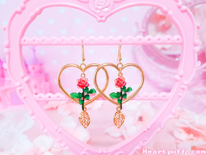 Rose Beauty Earrings