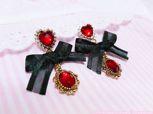 Load image into Gallery viewer, Cherry Liquor Earrings (2 COLORS)