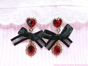 Cherry Liquor Earrings (2 COLORS)