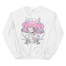Load image into Gallery viewer, Heartpuff Nurse Bunny Sweatshirt
