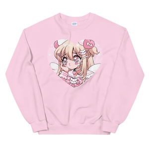 Crying Heartpuff Sweatshirt
