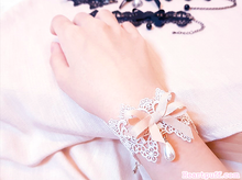 Load image into Gallery viewer, Vampire Doll Choker and Bracelet SET (2 COLORS)