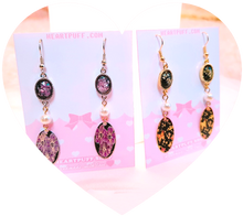 Load image into Gallery viewer, Midnight Empress Earrings