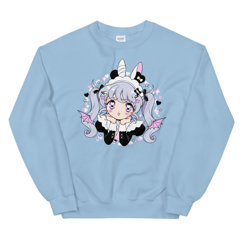Heartpuff Maid Devil Sweatshirt