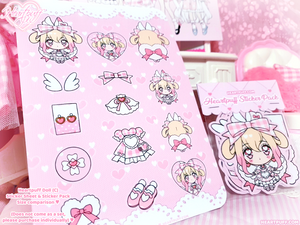 Heartpuff Doll Sticker Sheets