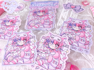 Heartpuff Sleepover Sticker Pack
