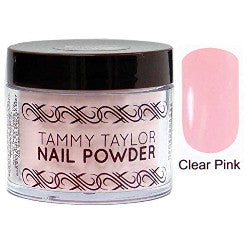Tammy Taylor  Clear Pink Nail Powder 1.5oz