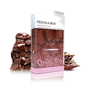 Voesh Pedi in a Box (Basic 4 Step) Chocolate Love