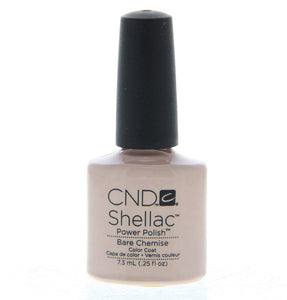 Bottle of Shellac Bare Chemise Color Coat