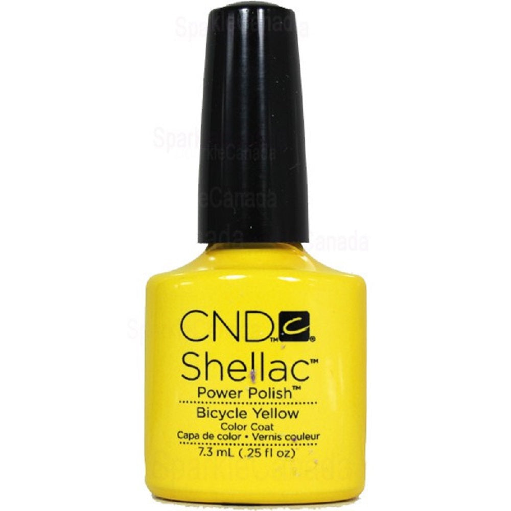 .5oz Bottle of Shellac Bicycle Yellow