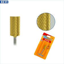Medicool 3/32nd Gold Carbide Barrel Nail Bit CC2