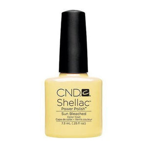 .25oz Bottle of Shellac Sun Bleached Gel Nail Polish