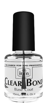 Bottle of .5oz INM Clear Bond Base Coat