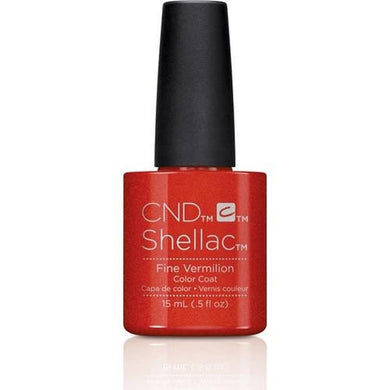 .5oz Bottle of Shellac Color Coat Fine Vermilion