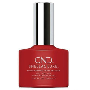 Bottle of Shellac Luxe  Brick Knit Color Coat