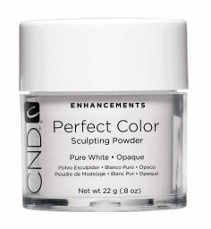 CND Perfect Color Powder Pure White - Opaque .8oz