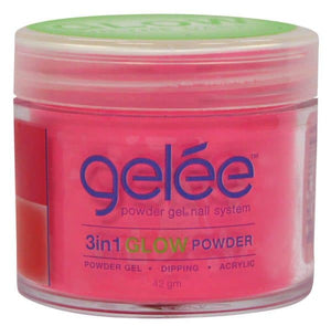 Jar of Lechat Raver Girl Glow in the Dark Powder .42oz