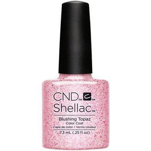 Bottle of Shellac Blushing Topaz Color Coat
